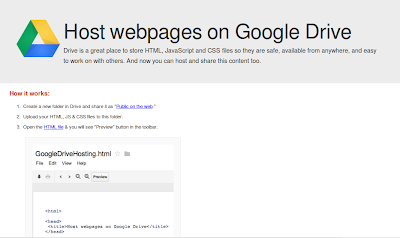 Google-drive-webpage-sample