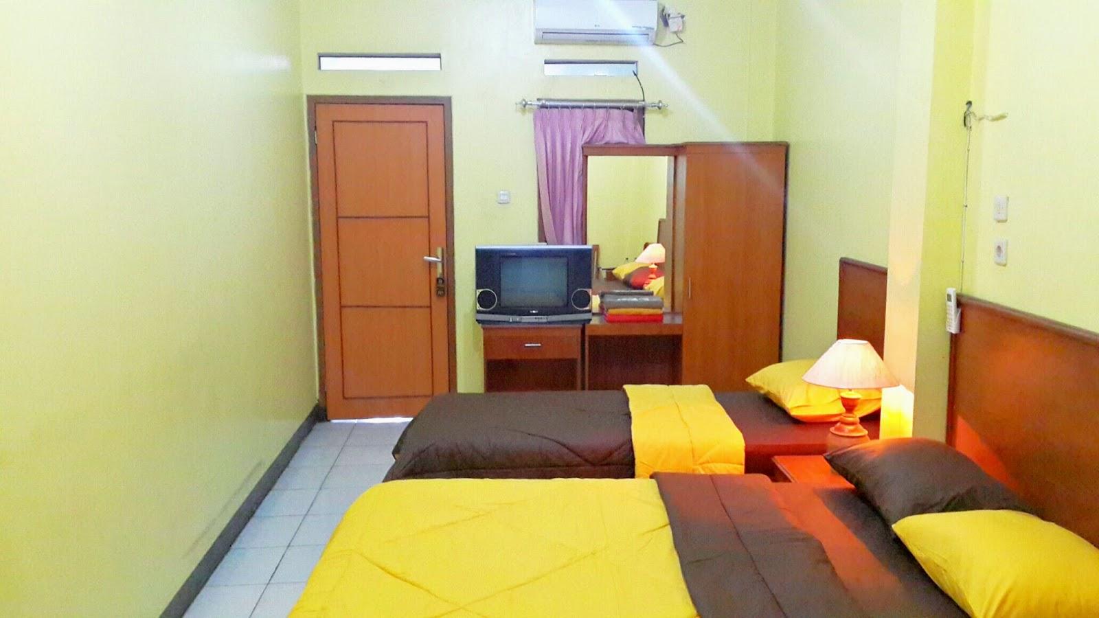 Hotel Murah Pondok Patradisa Di Bandung Bersih Dengan Fasilitas Baik Menyediakan Type Kamar Family Untuk Pelancong Keluarga