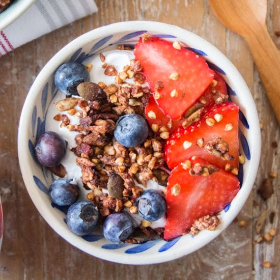 Deliciously Ella | Buckwheat and Ginger Granola
