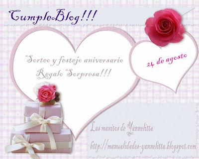 Apuntaros al cumpleblog de Yanelita