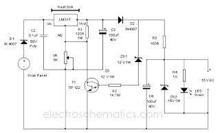 Solar Charger Circuit
