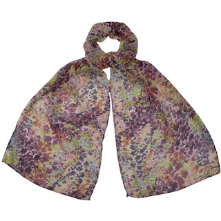 Multicolour Purple Jesse Scarf