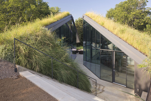 Texas Green Roof House