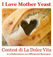"I LOVE MOTHER YEAST il contest di Francy di ""La dolce vita"""