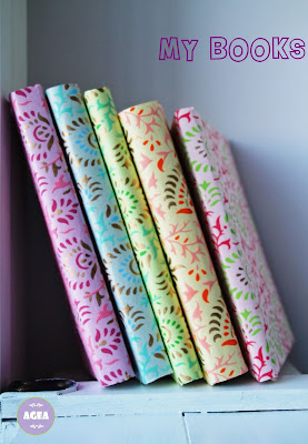 My books, my colours