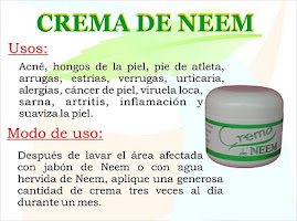 CREMA NEEM DE 60 GRS $150.00 PESOS