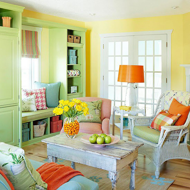 Colorful Living Room Ideas Featuring Vibrant Aesthetics