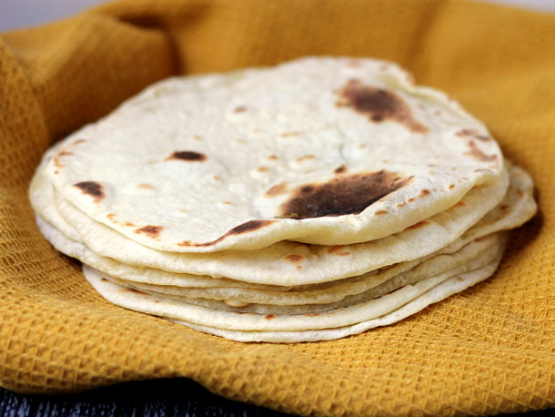 Flour Tortillas - with a secret ingredient