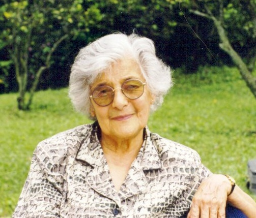 Marica en fotos de abuelita