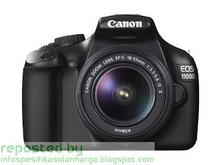 Harga CANON EOS 1100D Kit Kamera Digital Terbaru 2012
