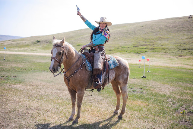 World Champion for Mounted Shooting