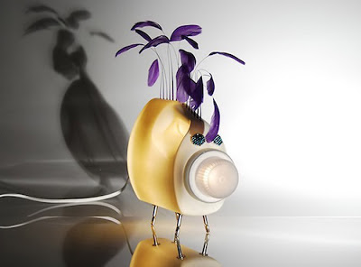 Luminárias feitas com frasco de amaciante