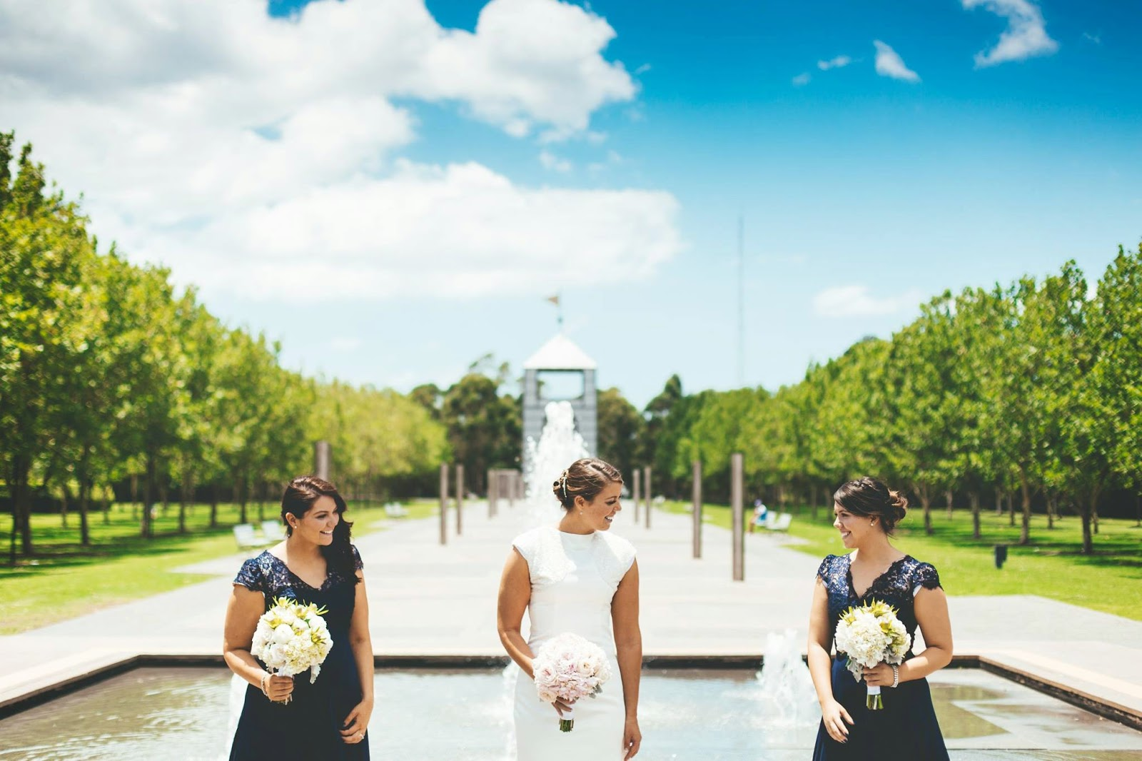 For The Reception Venue Blush Pink In Fishbowl Vases Jules Set Them Up At Waterview Bicentennial Park Homebush Bay