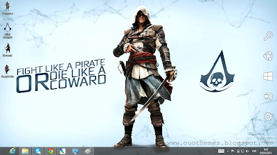 Assassin's Creed 4 Black Flag Theme For Windows 7 And 8