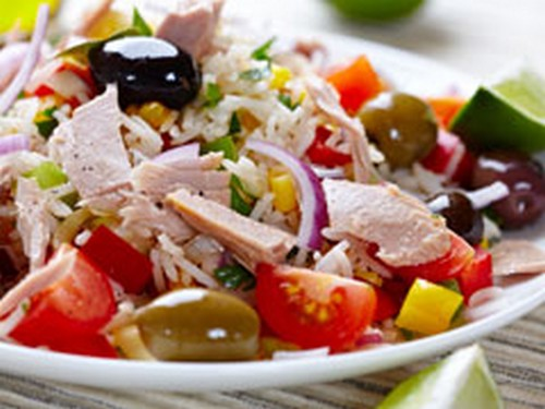 Salade+de+riz+au+thon