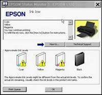 Resetter Printer Epson L100, L200, L800