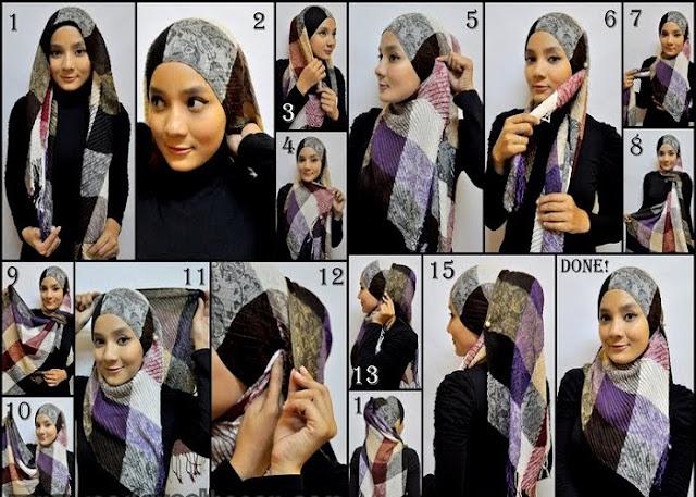 Langkah Memakai Jilbab