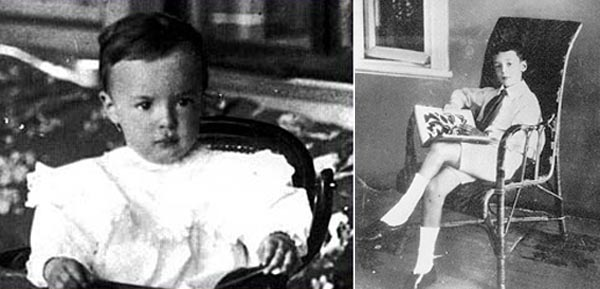 Baby Pictures of Famous Authors