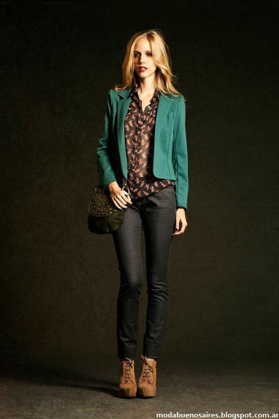 Otoño invierno 2013 Moda blazers