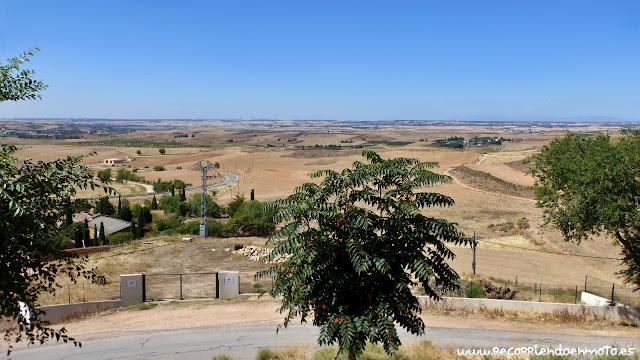 Panorámica sobre la Alcarria desde Hita