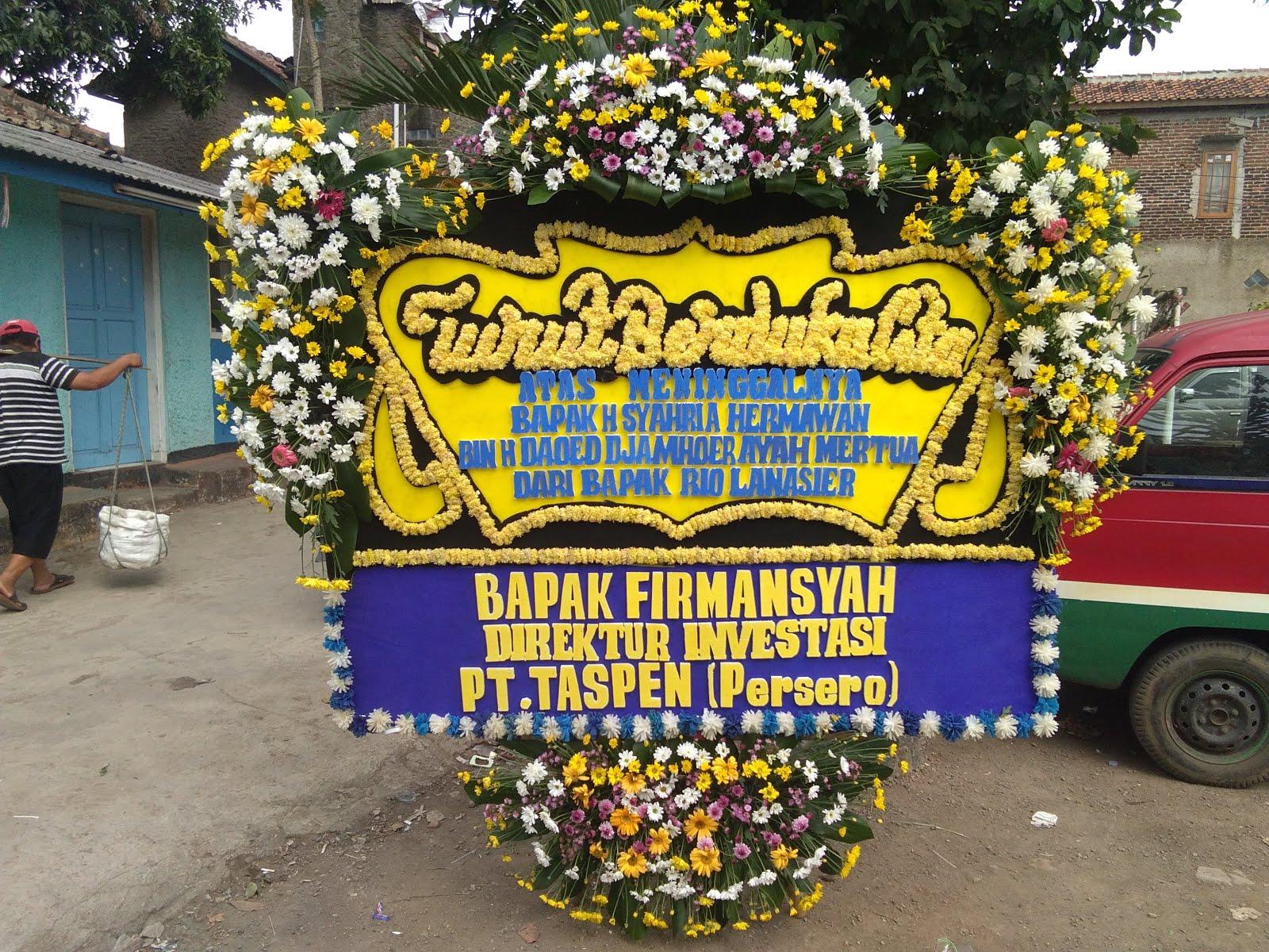 bunga papan dukacita