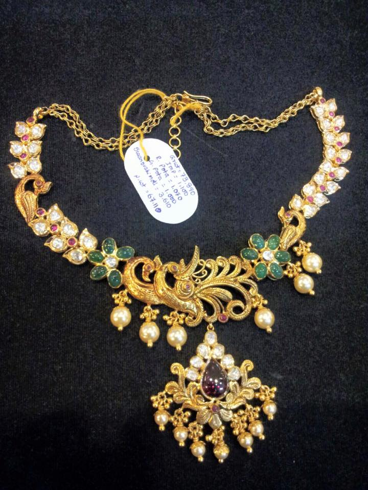 SUDHAKAR GOLD WORKS: Necklaces