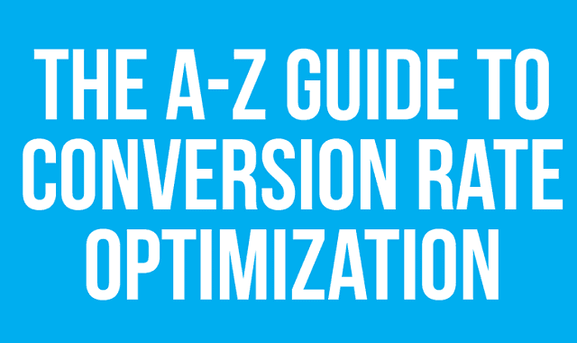 Image: A to Z guide to Conversion Rate Optimization