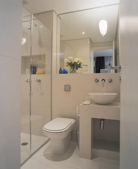 Romã Arranjo no banheiro -> Arrumar Banheiro Pequeno