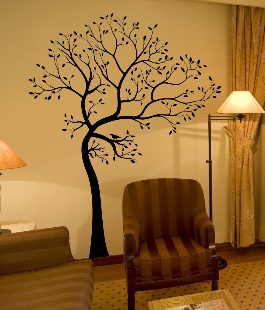 decorazioni pareti interior design : Con Decorazioni Floreali Su Parete Interior Design: Interior design ...