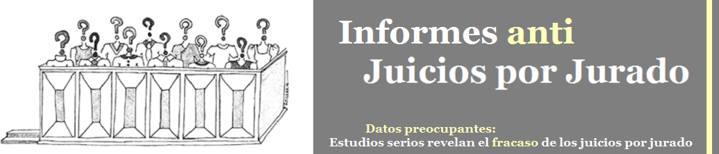 Informes sobre Juicios por Jurado