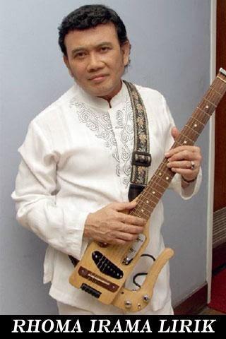 Lirik Dan Kunci Gitar Lagu Rhoma Irama - Cuma Kamu