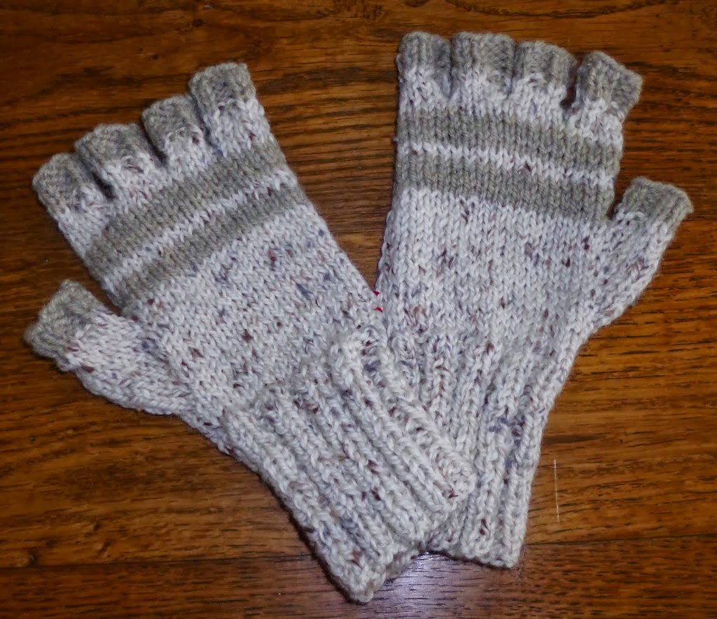 modele tricot mitaines avec doigts