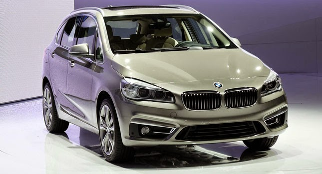2016 BMW 218d Active Tourer Concept