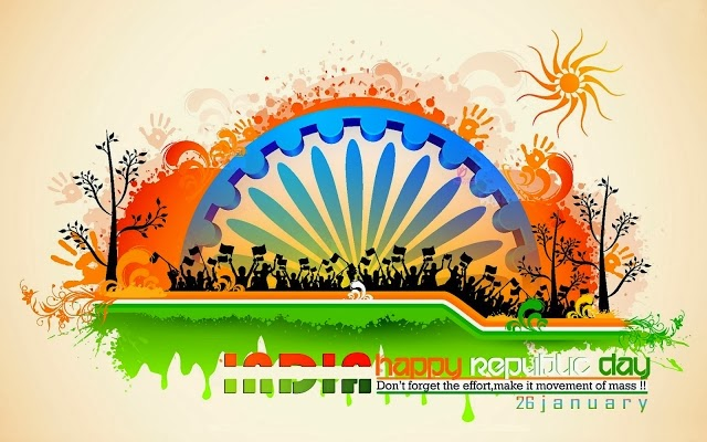 Happy republic day of india wishes greeting cards wallpapers happy republic day of india wishes greeting cards wallpapers m4hsunfo