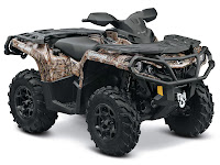 2013 Can-Am Outlander XT 650 ATV pictures 1