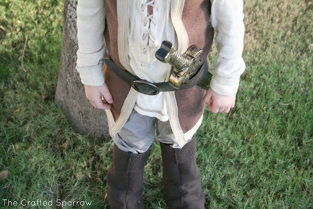 DIY Little John Costume