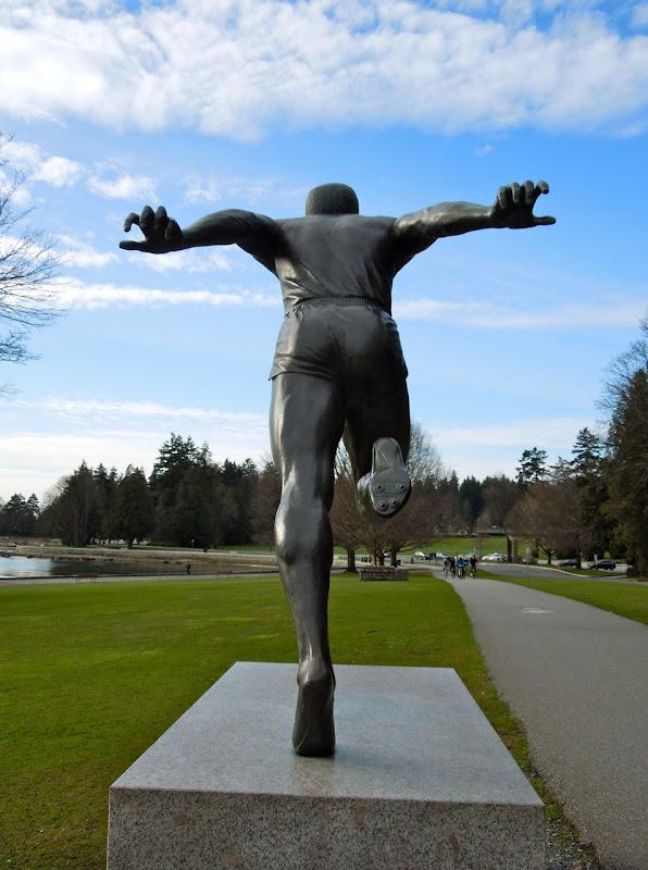 Harry Jerome statue Vancouver