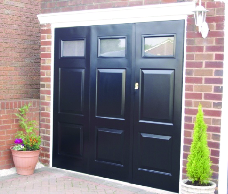 side hinged garage doorsThe Door Industry Journal BGID Launch NEW ROWLEY SideHinged