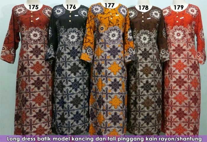grosir-longdress-batik-pekalongan-murah