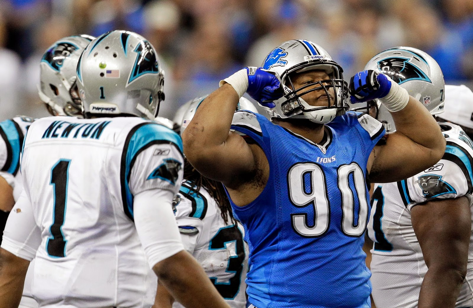 Detroit Lions — Cam Newton may be sorry for his 'Donkey Kong Suh' remarks