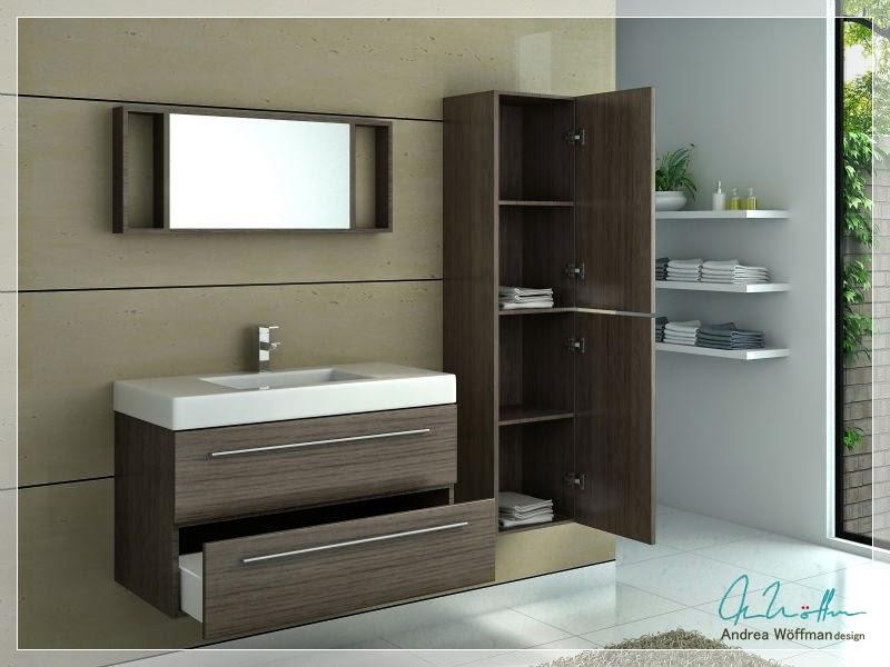 Vanitory y muebles para bano for Amoblamientos modernos