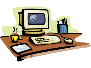 Office Desk Clip Art