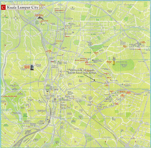 Kuala Lumpur city map