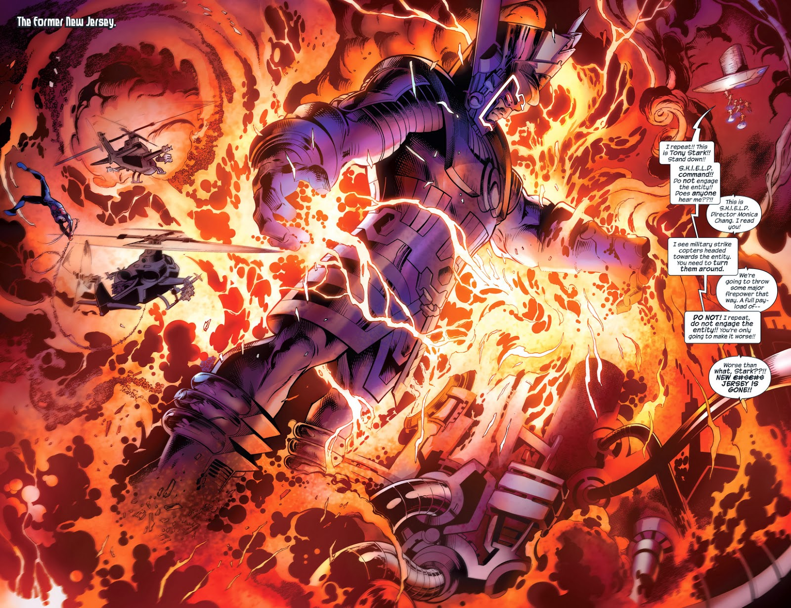 Galactus continues to ...