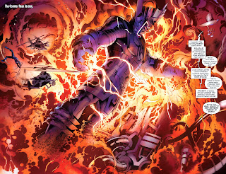 Following the Age of Ultron Event, 616 Galactus storms the Ultimate universe in Cataclysm: The Ultimate's Last Stand 2