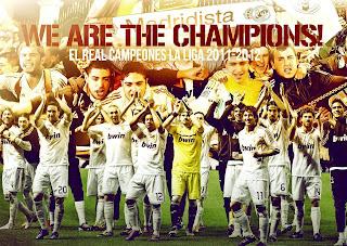 Video Perayaan Juara La Liga Real Madrid 2011/2012