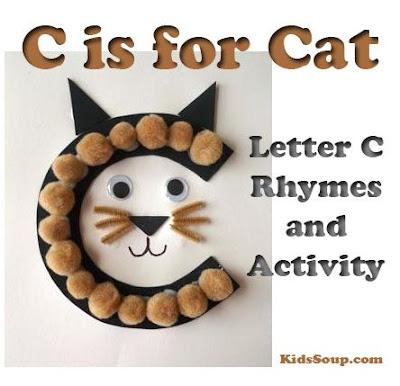 Letter C for preschool