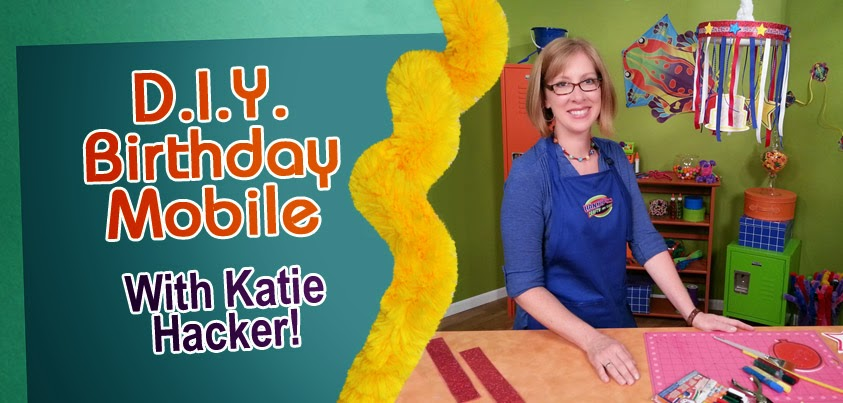 Make Your Own Birthday Mobile - Photo by Hands On Crafts for Kids
