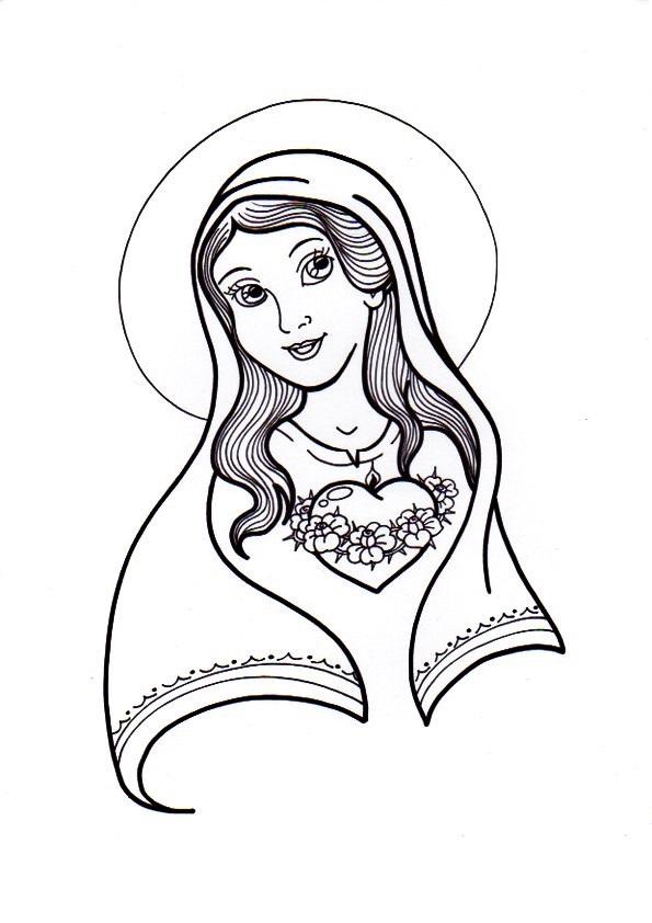 Virgen María, Ruega por Nosotros ®: INMACULADO CORAZÓN DE MARÍA PARA ...