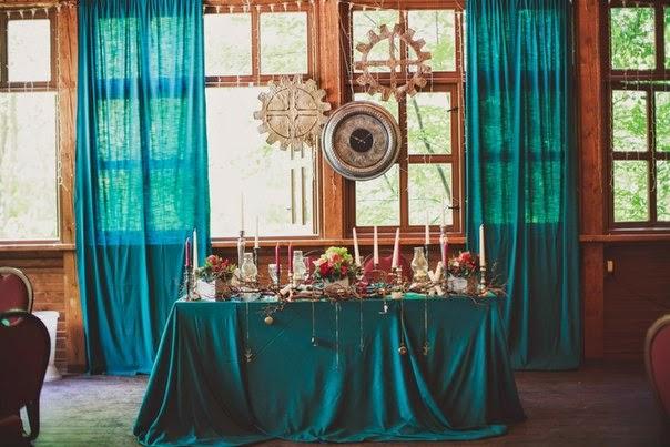 оформление свадьбы в гостинице лось
